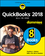 QuickBooks 2018 All-in-One For Dummies (1119397367) cover image