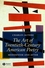 The Art of Twentieth-Century American Poetry: Modernism and After (1405121068) cover image