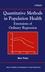 Quantitative Methods in Population Health: Extensions of Ordinary Regression (EHEP002369) cover image