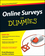 Online Surveys For Dummies (047052796X) cover image
