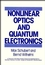 Nonlinear Optics and Quantum Electronics (0471088072) cover image