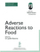 Adverse Reactions to Food: The Report of a British Nutrition Foundation Task Force (0632055472) cover image