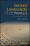 Sacred Languages of the World: An Introduction (1118970772) cover image