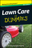 Lawn Care For Dummies, Mini Edition (1118042573) cover image