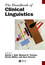 The Handbook of Clinical Linguistics (1444338773) cover image