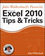 John Walkenbach's Favorite Excel 2010 Tips and Tricks (0470475374) cover image