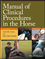 Manual of Clinical Procedures in the Horse (0470959274) cover image