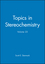 Topics in Stereochemistry, Volume 23 (0471461474) cover image