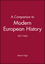 A Companion to Modern European History: 1871-1945 (0631192174) cover image