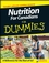 Nutrition For Canadians For Dummies (0470153075) cover image