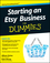 Starting an Etsy Business For Dummies (0470930675) cover image
