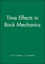 Time Effects in Rock Mechanics (0471955175) cover image