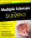 Multiple Sclerosis For Dummies, 2nd Edition (1118175875) cover image