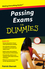 Passing Exams For Dummies (1118348575) cover image