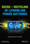 Reuse and Recycling of Lithium-Ion Power Batteries (1119321875) cover image