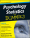 Psychology Statistics For Dummies (1119952875) cover image