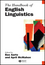 The Handbook of English Linguistics (1405187875) cover image