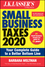 J.K. Lasser's Small Business Taxes 2020: Your Complete Guide to a Better Bottom Line (1119595177) cover image