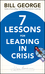Seven Lessons for Leading in Crisis (0470531878) cover image