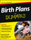 Birth Plans For Dummies (1118317378) cover image