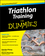 Triathlon Training For Dummies (0470383879) cover image