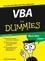 VBA für Dummies, 4th Edition (3527657479) cover image