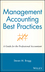 Management Accounting Best Practices: A Guide for the Professional Accountant (047174347X) cover image
