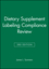 Dietary Supplement Labeling Compliance Review, 3rd Edition (081380437X) cover image
