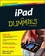 iPad For Dummies, 8th Edition (1119137780) cover image