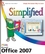 Microsoft Office 2007 Simplified (1118157281) cover image