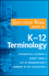 The Education Week Guide to K-12 Terminology (0470406682) cover image