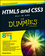 HTML5 and CSS3 All-in-One For Dummies, 3rd Edition (1118289382) cover image
