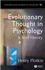 Evolutionary Thought in Psychology: A Brief History (1405113782) cover image