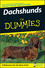 Dachshunds For Dummies, 2nd Edition (0470229683) cover image
