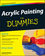 Acrylic Painting For Dummies (0470526483) cover image