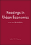 Readings in Urban Economics: Issues and Public Policy (0631215883) cover image