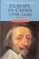 Europe in Crisis: 1598-1648, 2nd Edition (0631220283) cover image