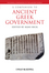 A Companion to Ancient Greek Government (1405198583) cover image