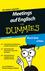 Meetings auf Englisch für Dummies, Das Pocketbuch (3527637583) cover image