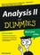Analysis II für Dummies (3527657983) cover image