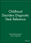 Childhood Disorders Diagnostic Desk Reference (0471404284) cover image
