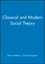 Classical and Modern Social Theory (0631212884) cover image