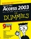 Access 2003 All-in-One Desk Reference For Dummies (0764539884) cover image