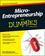 Micro-Entrepreneurship For Dummies (1118521684) cover image