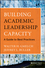 Building Academic Leadership Capacity: A Guide to Best Practices (1118299485) cover image