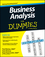 Business Analysis For Dummies (1118510585) cover image