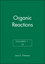 Organic Reactions, Volumes 1 - 74, Set (0470632186) cover image