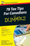 78 Tax Tips For Canadians For Dummies (0470677686) cover image