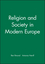 Religion and Society in Modern Europe (0631208186) cover image