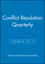 Conflict Resolution Quarterly, Volume 25, Number 2, Winter 2007 (0470274387) cover image
